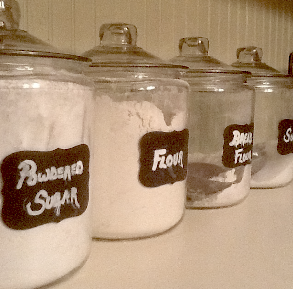 pantry canisters for baking ingredients pantry organization