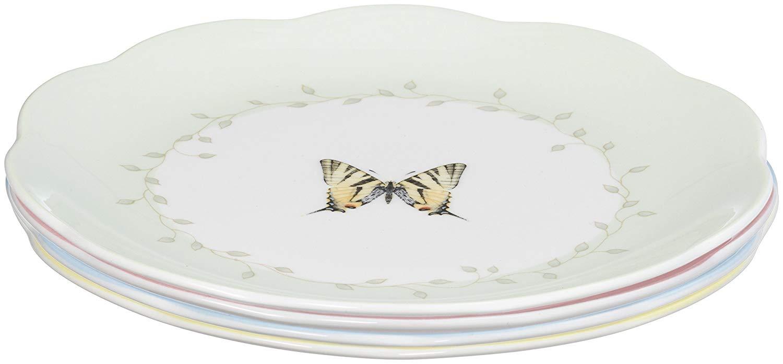 Lenox butterfly dessert plates set/4