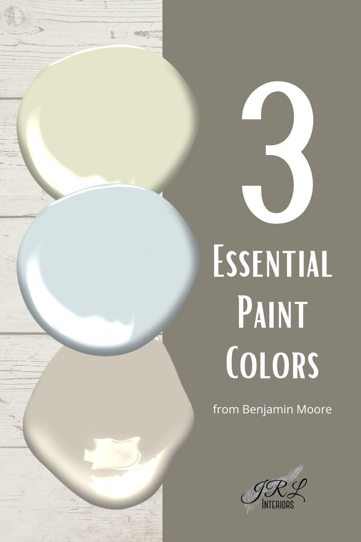 Jrl Interiors The Three Best No Fail Paint Colors