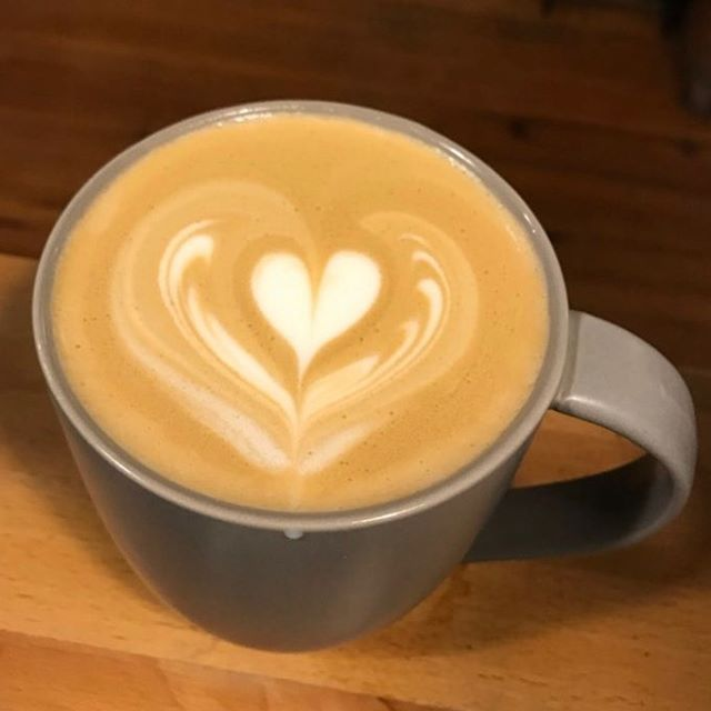 Getting cooler. Time to come into Muddy for a nice hot latte made with love. #Love #latte #latteart #tarrytowncoffee #bestlattein Westchester #westchestercoffee