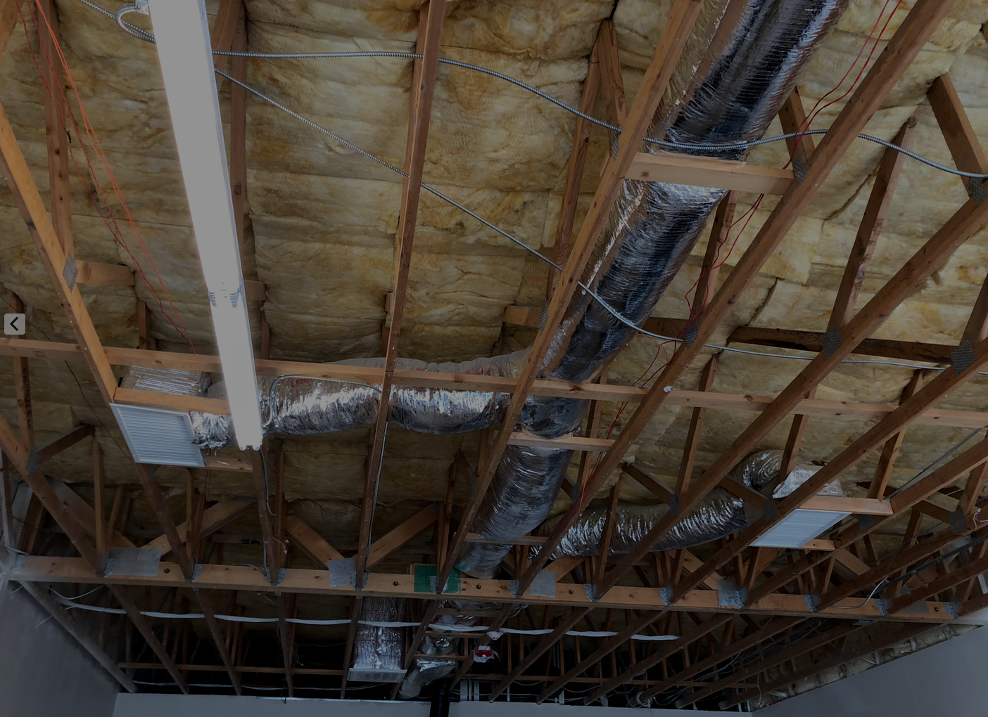 You gave $12k in less than a week! Thank you!  - The new ceiling is going up at the Women and Children In Crisis Center.