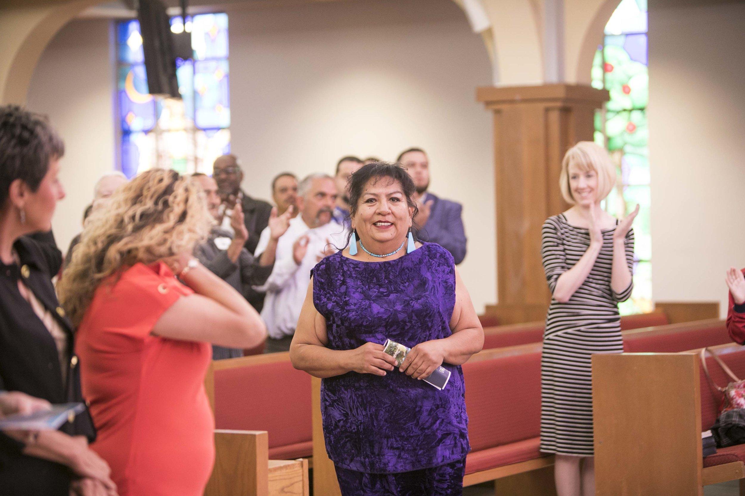 Commencement, Women's Center of Hope client