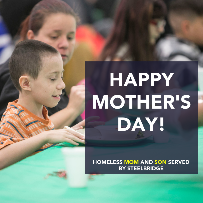 Albuquerque Homeless Steelbridge Mother's Day