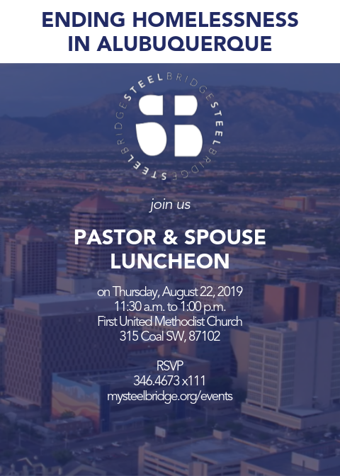 Albuquerque Homeless Pastor's Luncheon