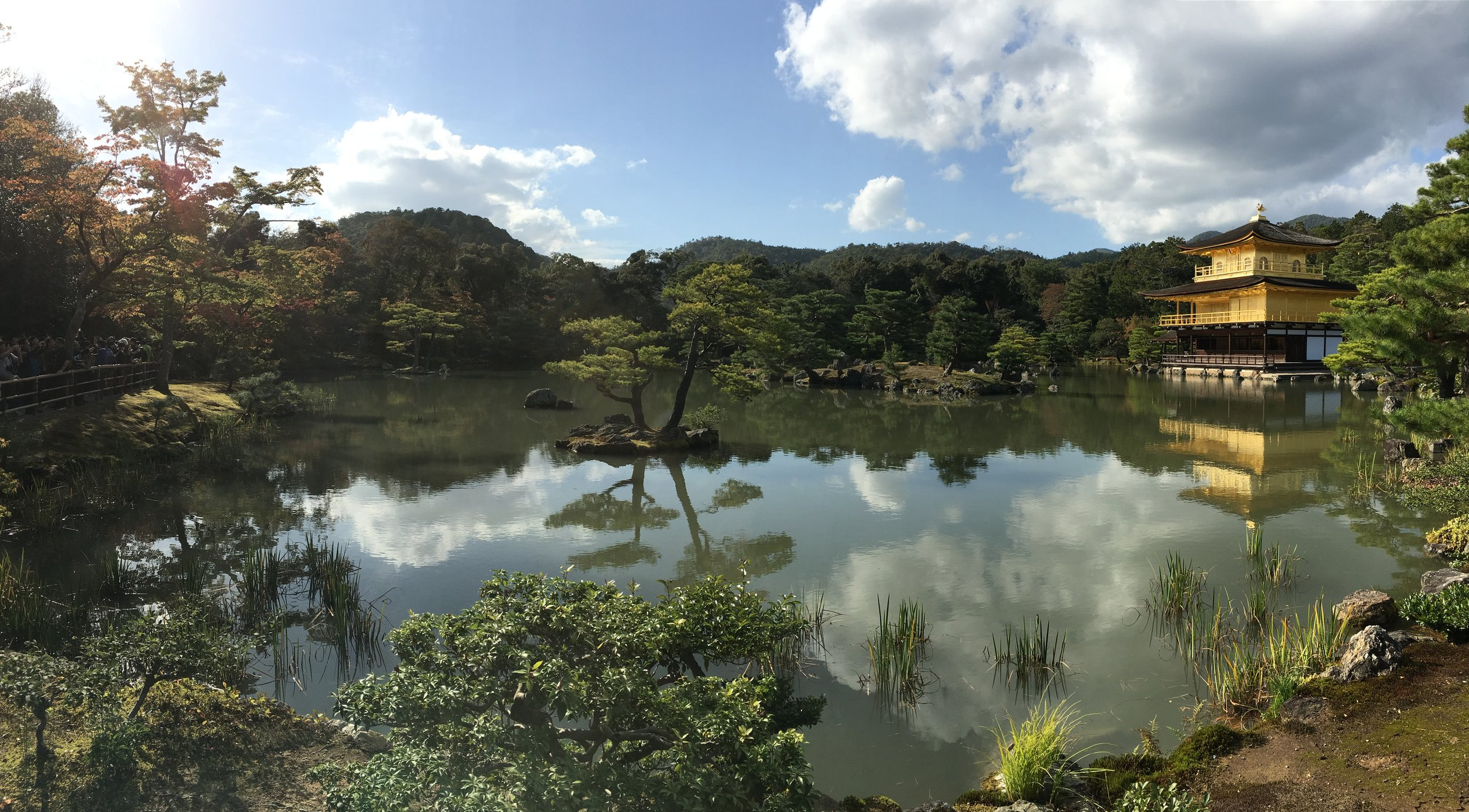 Kinkaku-ji (The Golden Pavilion), Kyoto, Japan