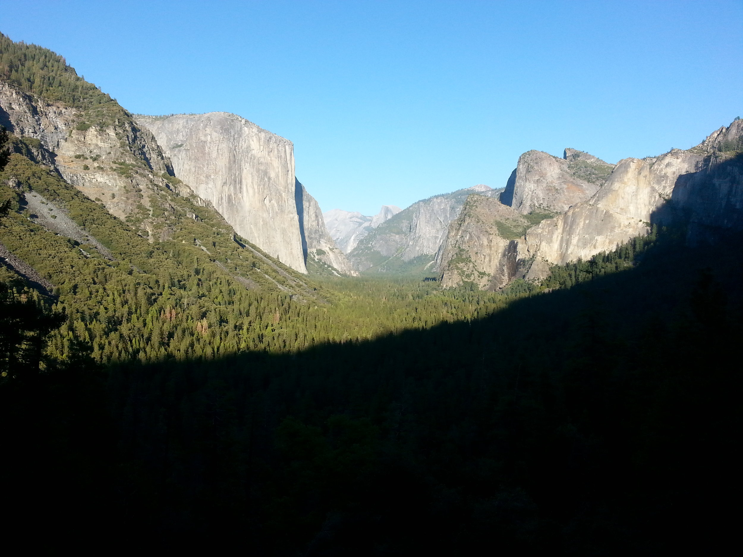 And the grand finale...Yosemite National Park!