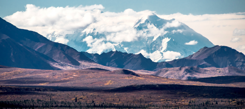 Mount McKinley 20,310 feet. The season for exploring is pretty short (120 days or so). It was already starting to snow on the peaks when we left. Most of the people I met, and the staff and guides at the parks, are seasonal workers. They come from around the globe to live/work in Alaska for the summer and then return to where they came from. Shops close down, restaurants, hotels even. It must be tough for those who do decide to stay behind for winter!