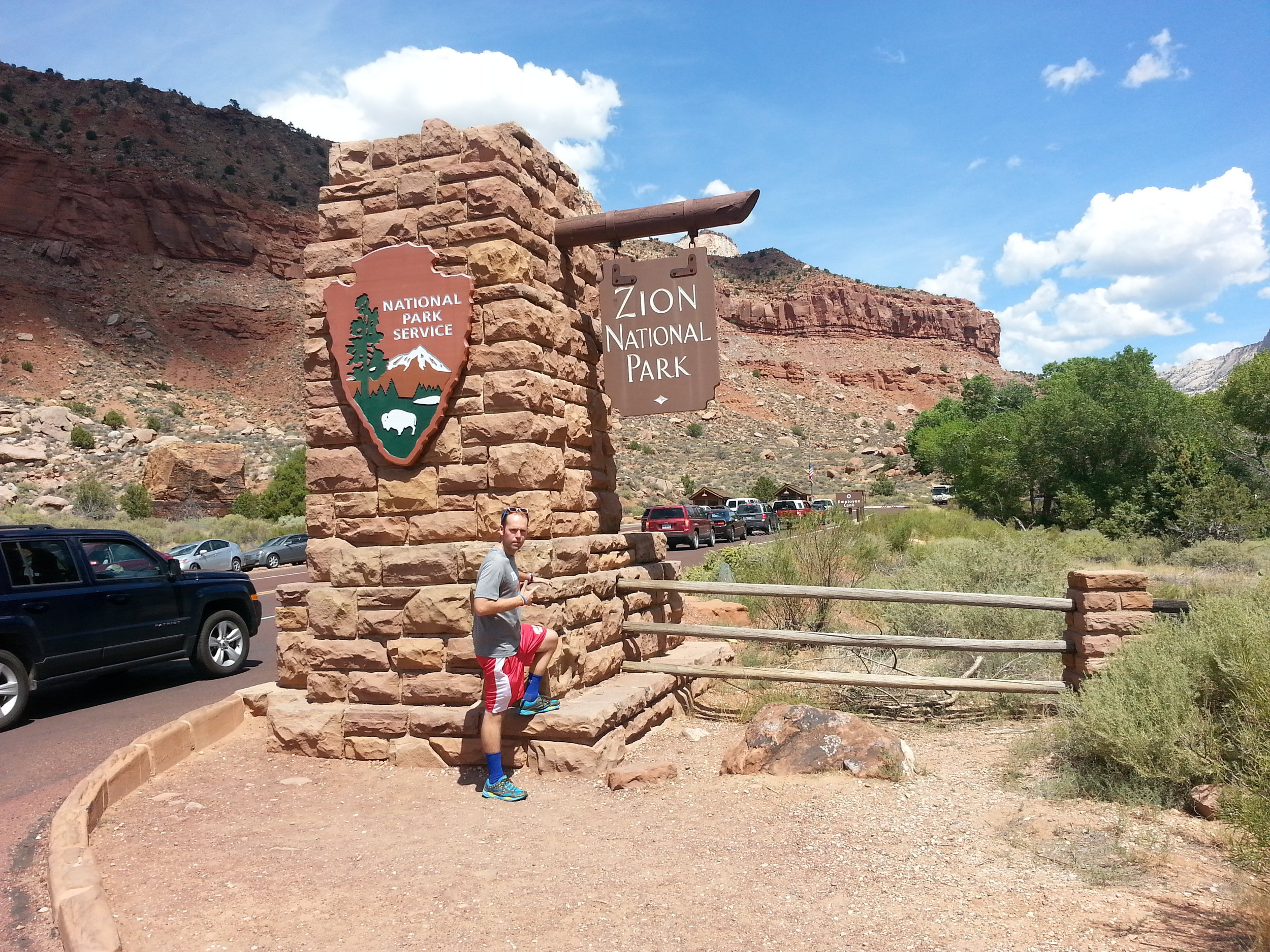Mike R entering  Zion!