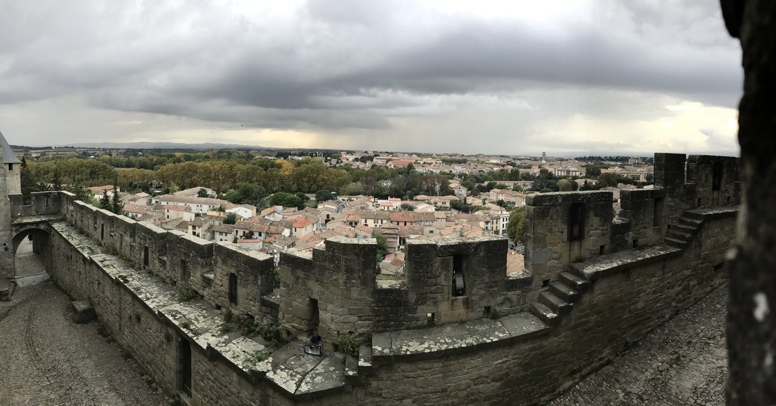 This town in Southern France has an old fort with a ton of history, and unfortunately, bloodshed within its walls. Touring the fort and then spending the night in a CASTLE was COOL!