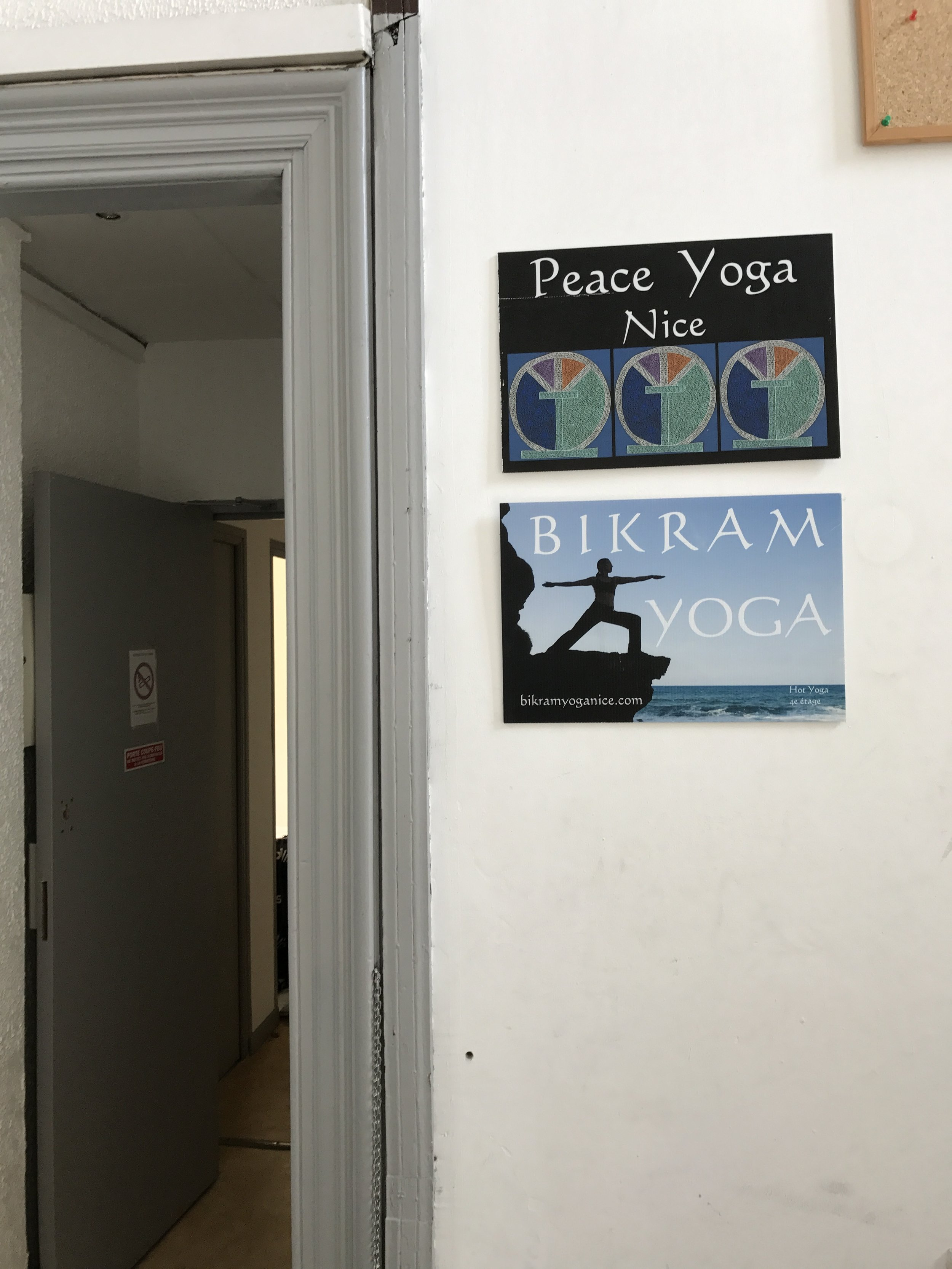 I cherished our two days on the French Riviera (especially our day with no driving!) The highlight was finding this Bikram Yoga Studio on the 4th floor of a hostel. The class was done in both English and French and as a Yogi I loved the fact that I was halfway across the world and had immediate connection and love from people I had never met because of yoga. Look them up when you get to town, they do have mats and towels available for rent!