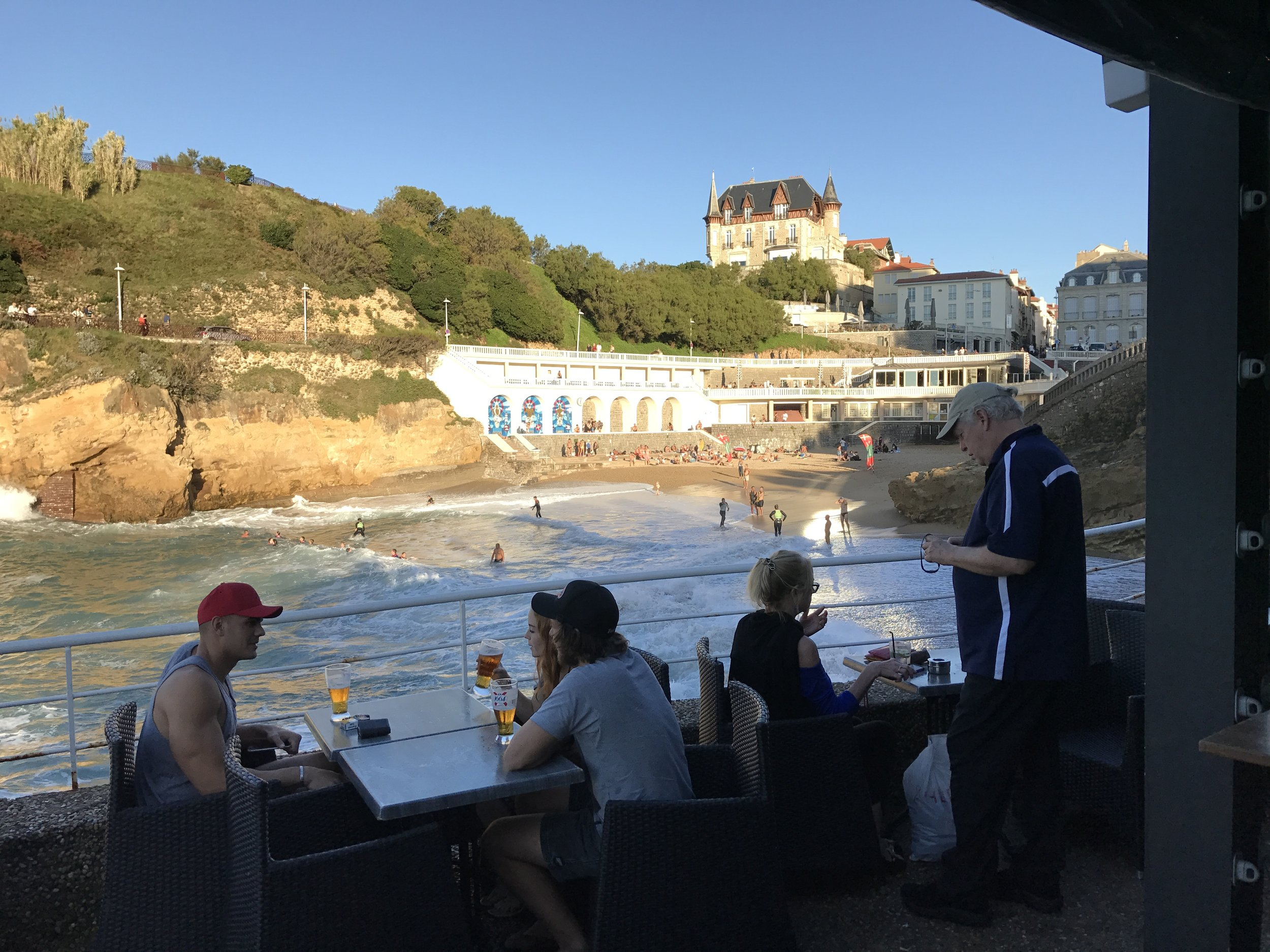 Great times await in Biarritz, that's why it is my number one! Sante!