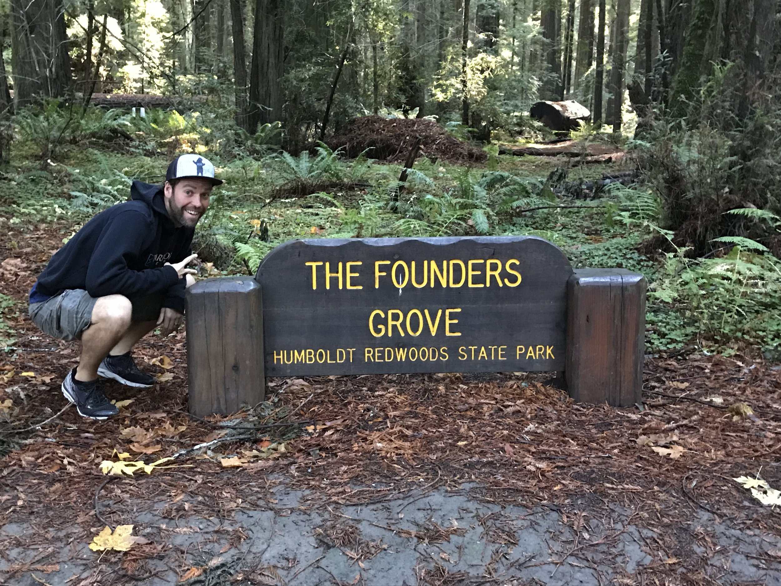 Hike One: The Founders Grove in  Humboldt Redwoods State Park  gives you a TON of bang for your buck. Some of the biggest redwoods in the world are actually here and not the national park.
