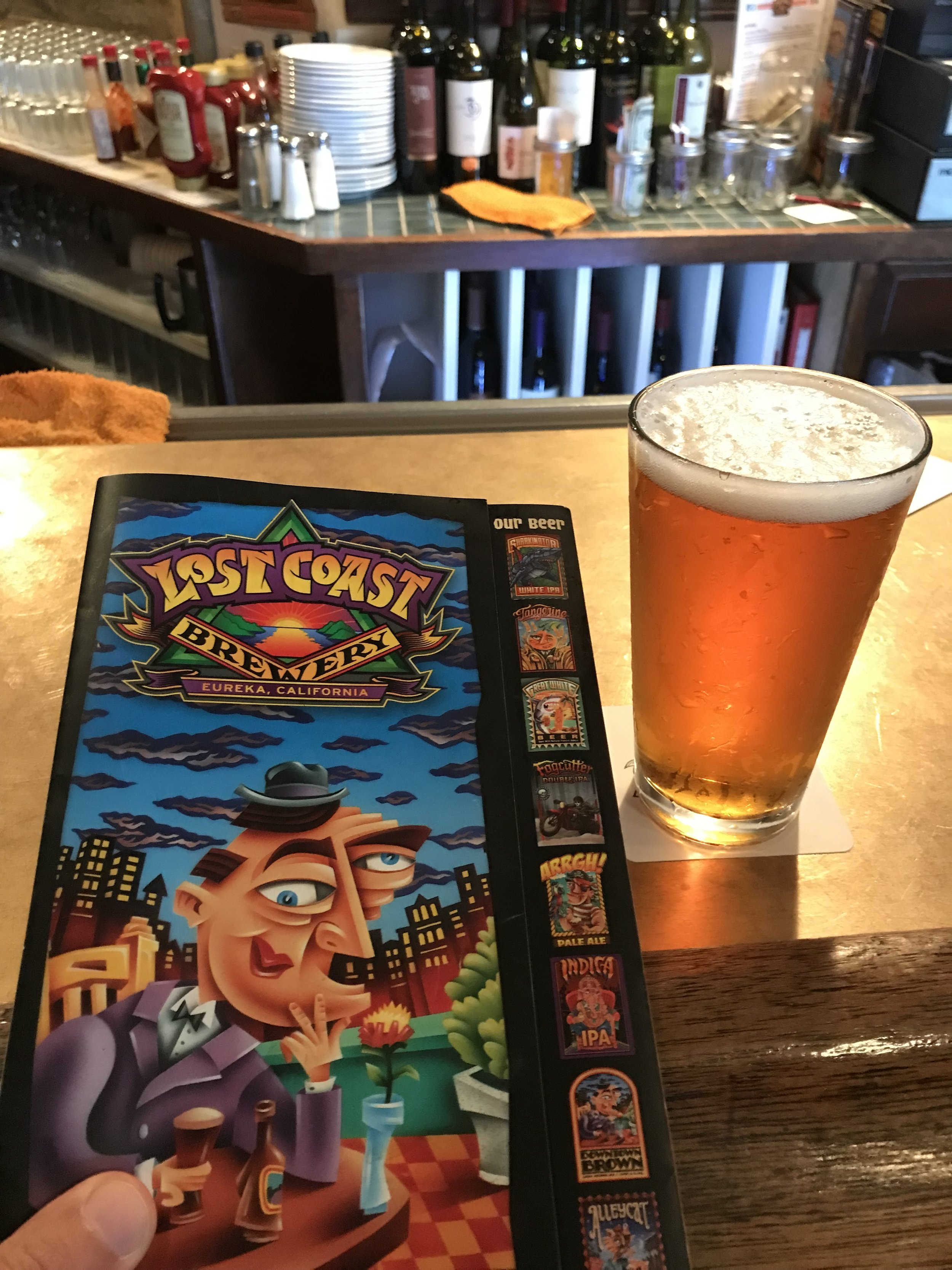 """Finish off your day of hiking with a tasty cold one at  Lost Coast Brewery  in Eureka! We stayed at """"Lulu's House"""" on  AirBnB  and had a wonderful time in this coastal town!"""