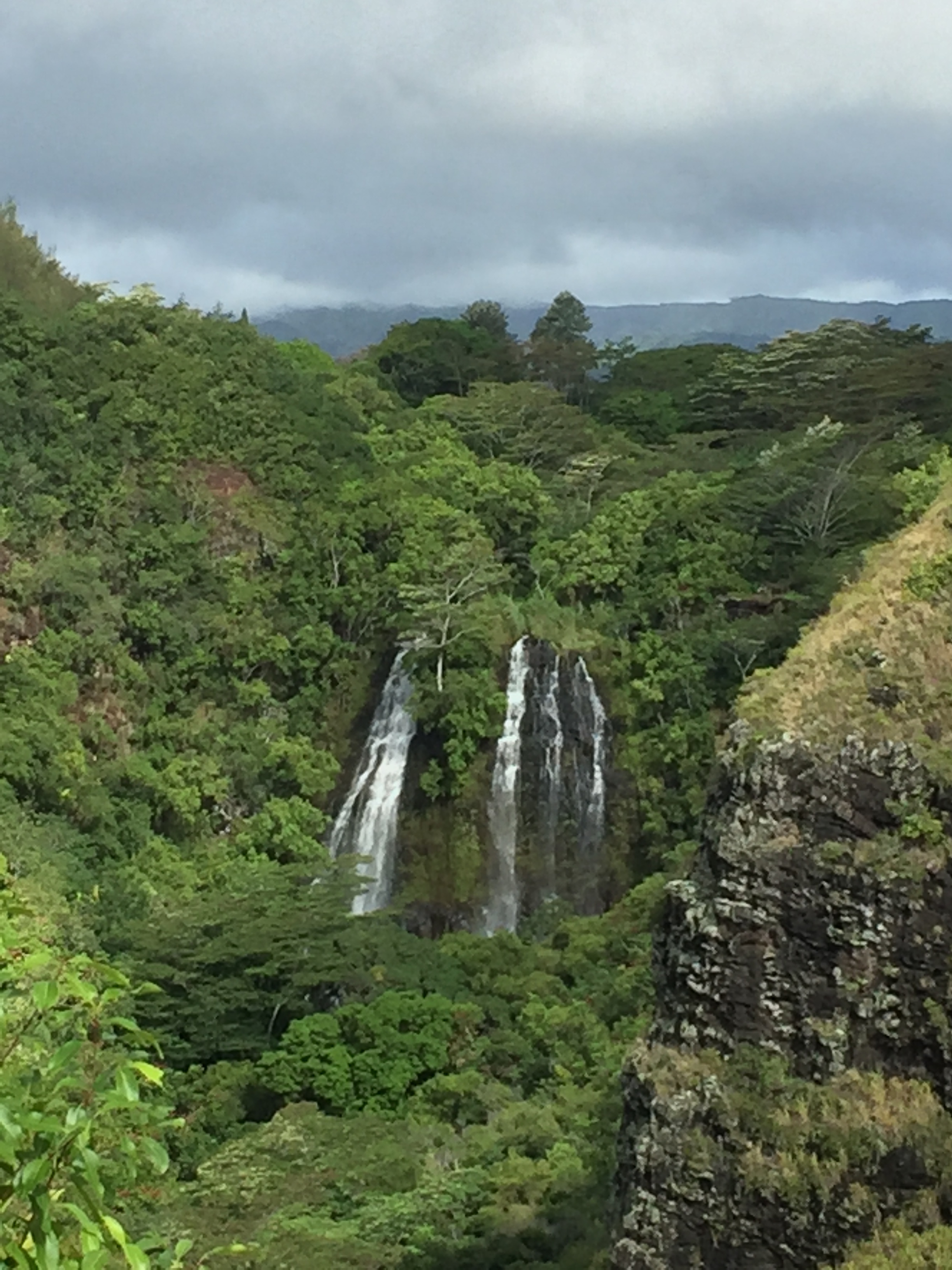 Waterfalls abound on this Island!
