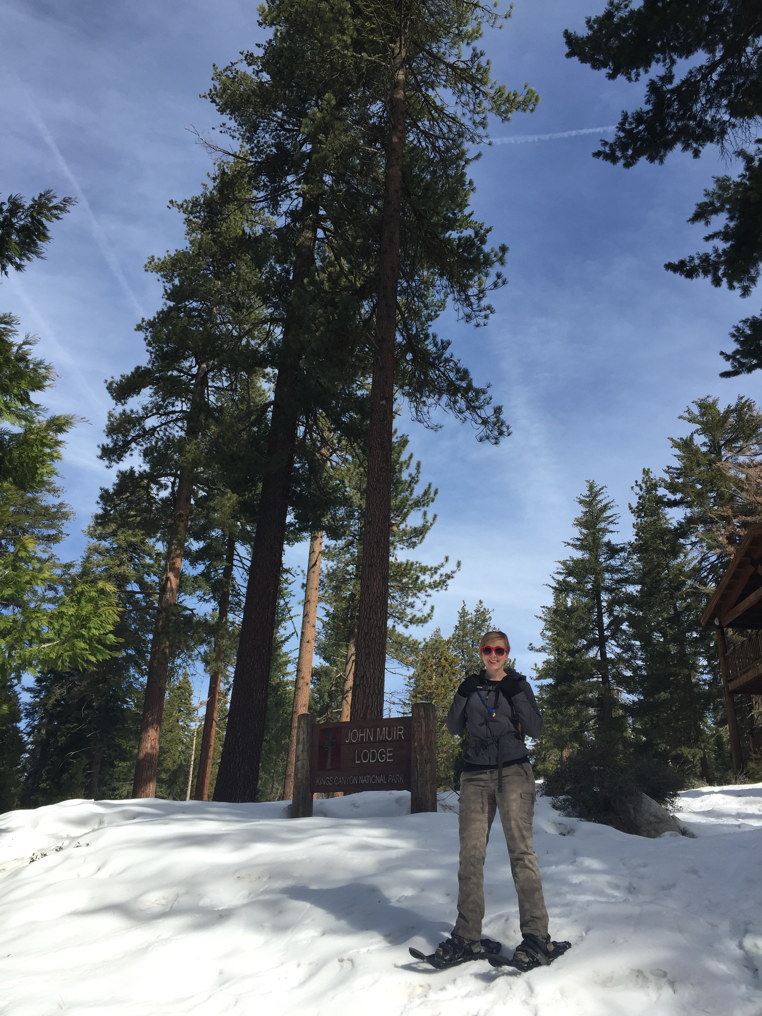 Having a long quest means tacking national park visits onto other trips. I would've never thought about going to  Kings Canyon and Sequoia national parks  in the winter, but we were so glad we did! And I learned to snowshoe.