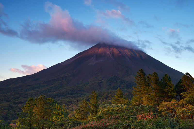 The gorgeous Arenal Volcano
