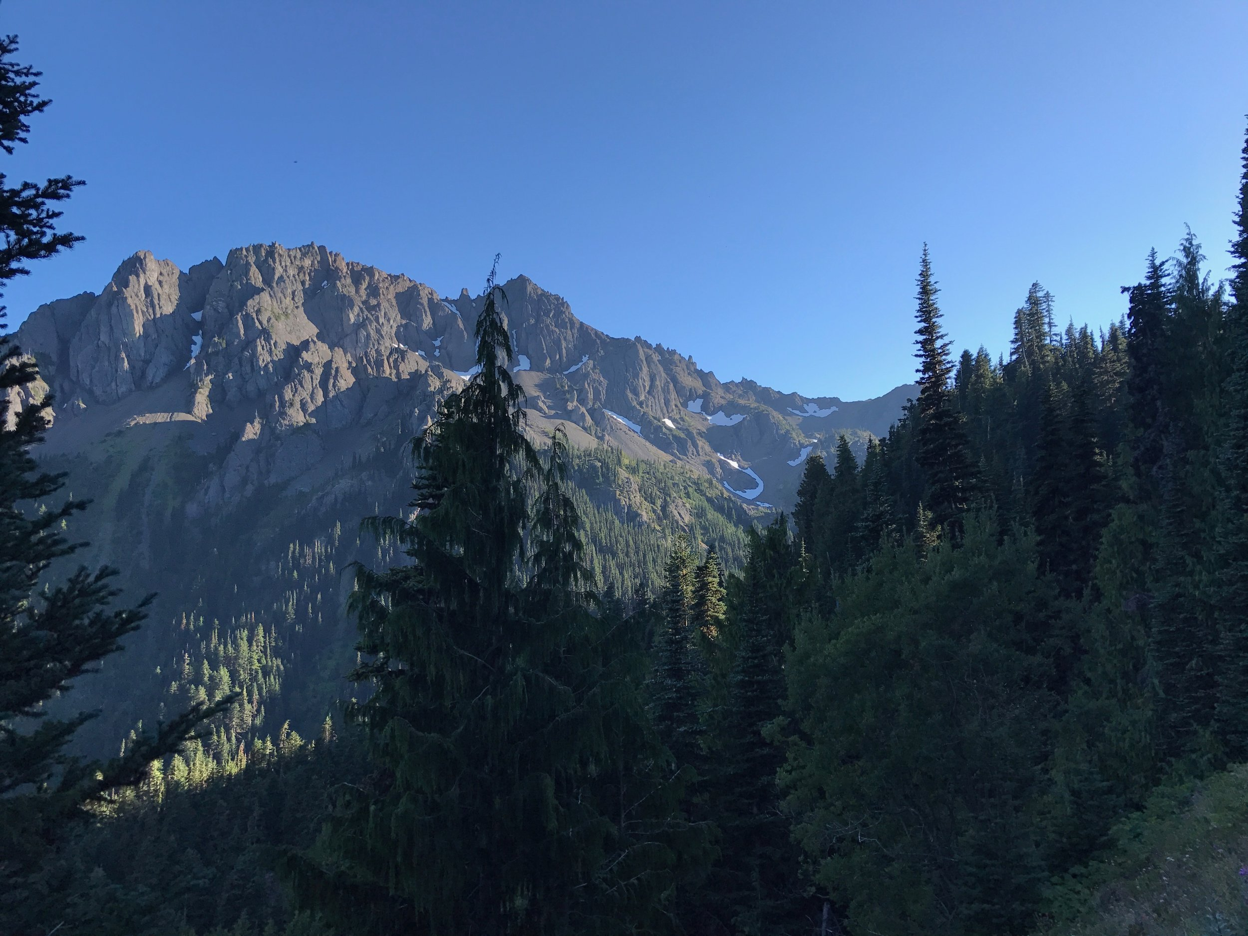 The view we enjoyed on the way to Marmot Pass.