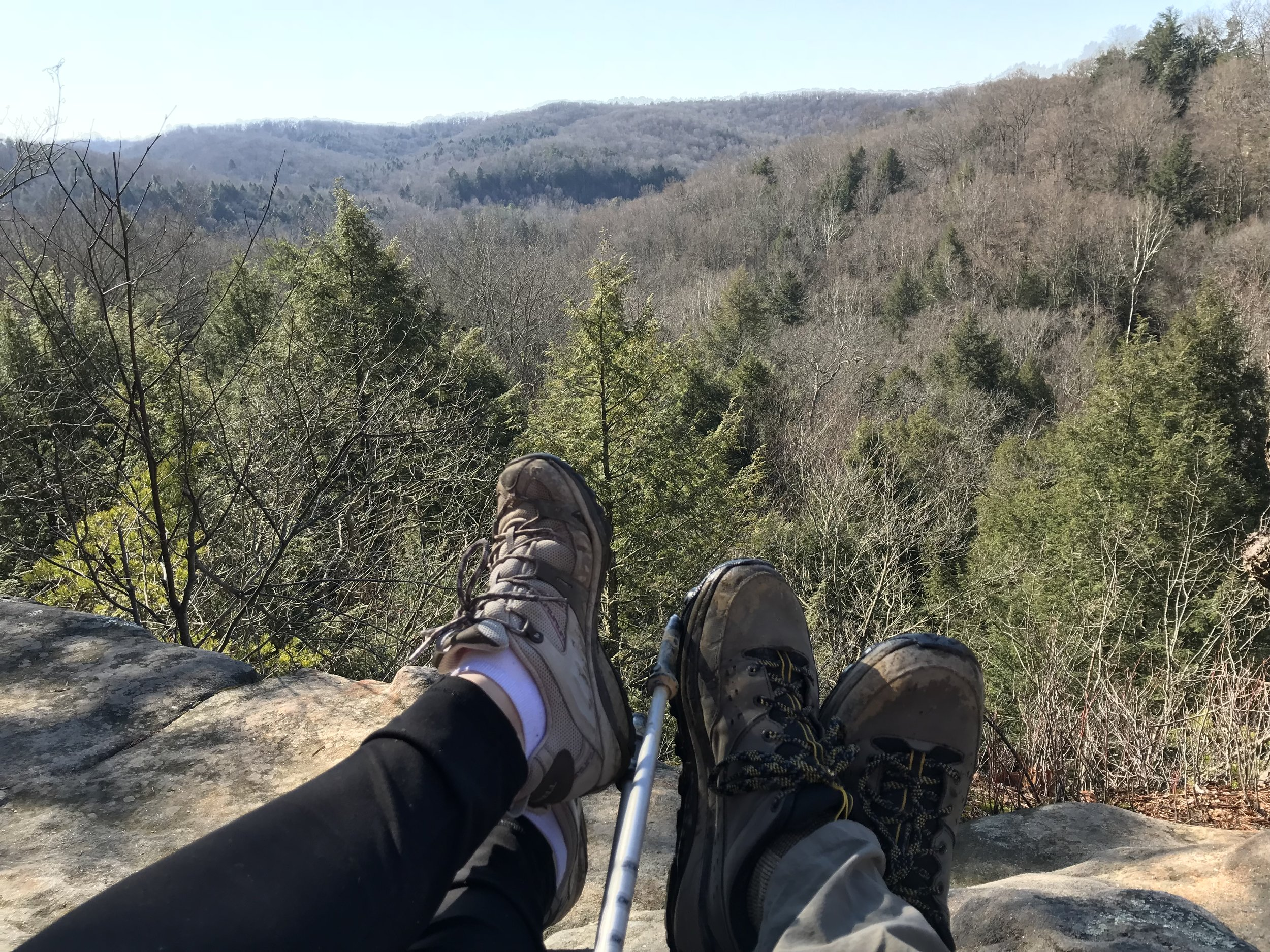 Hocking Hills State Park in Ohio. A hiker's paradise...for Ohio at least.