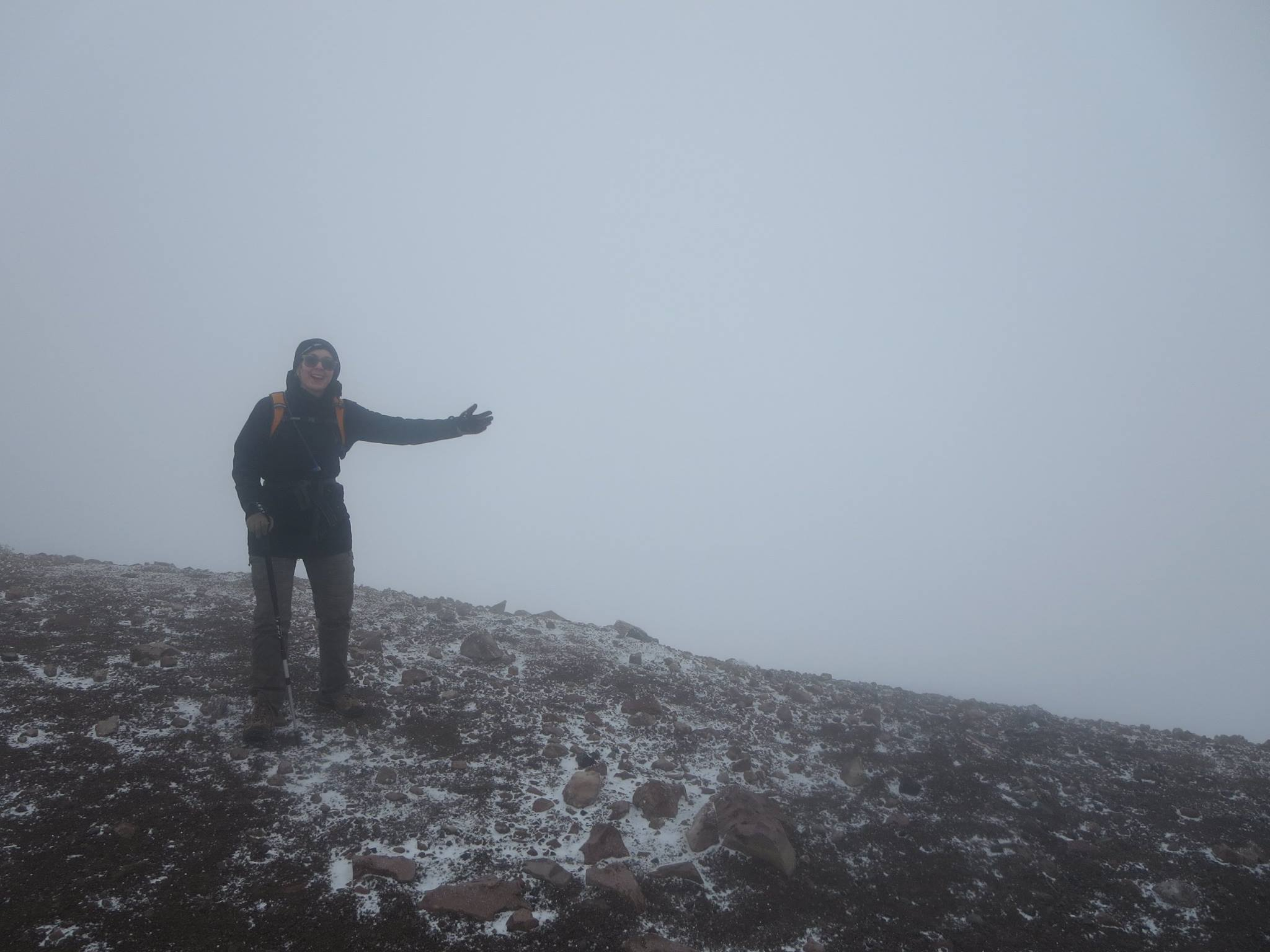 We reached the summit and saw… this.