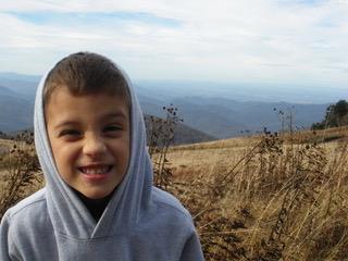 Atop White Mountain!