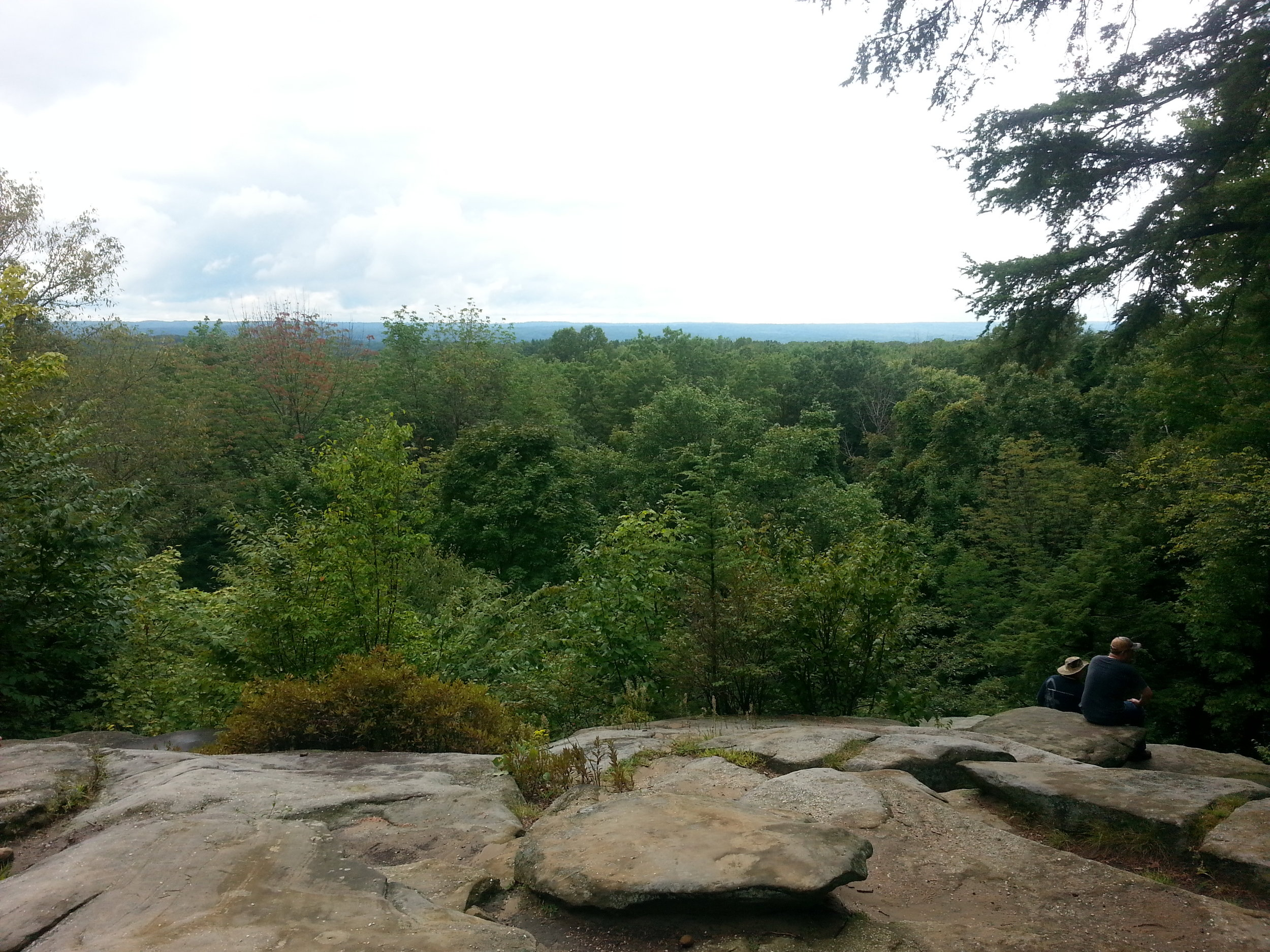 One great region in CVNP is the  Ritchie Ledges.