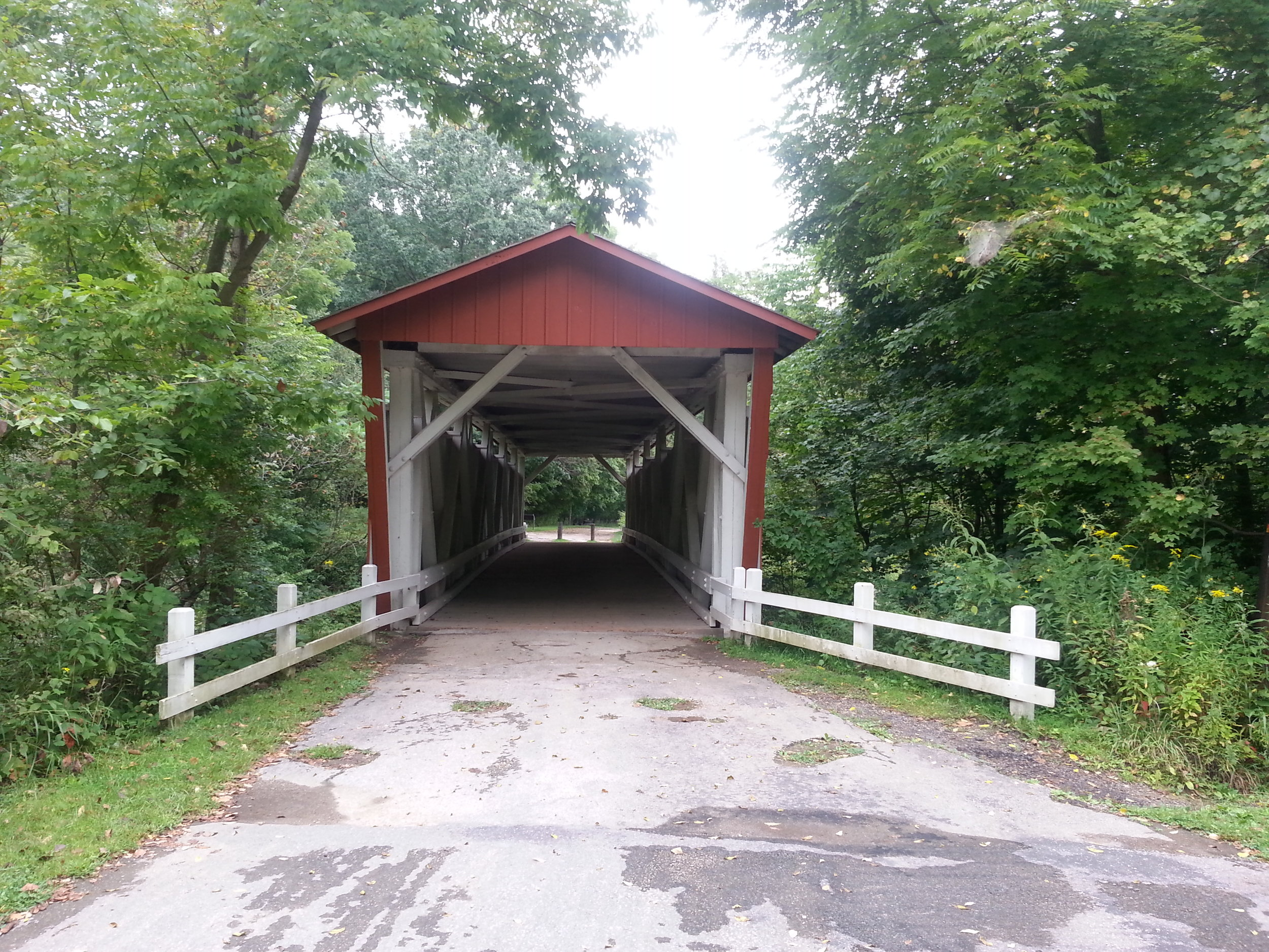 The Everett Covered Bridge.