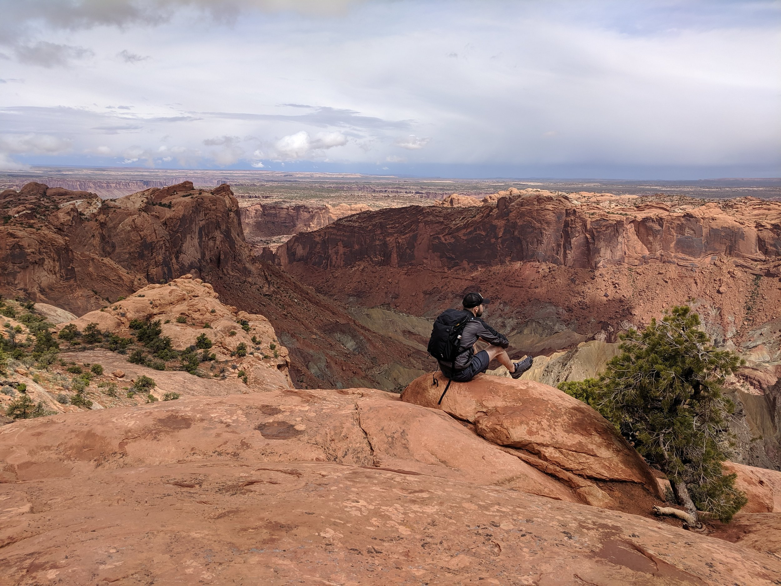 View into the Upheaval Dome