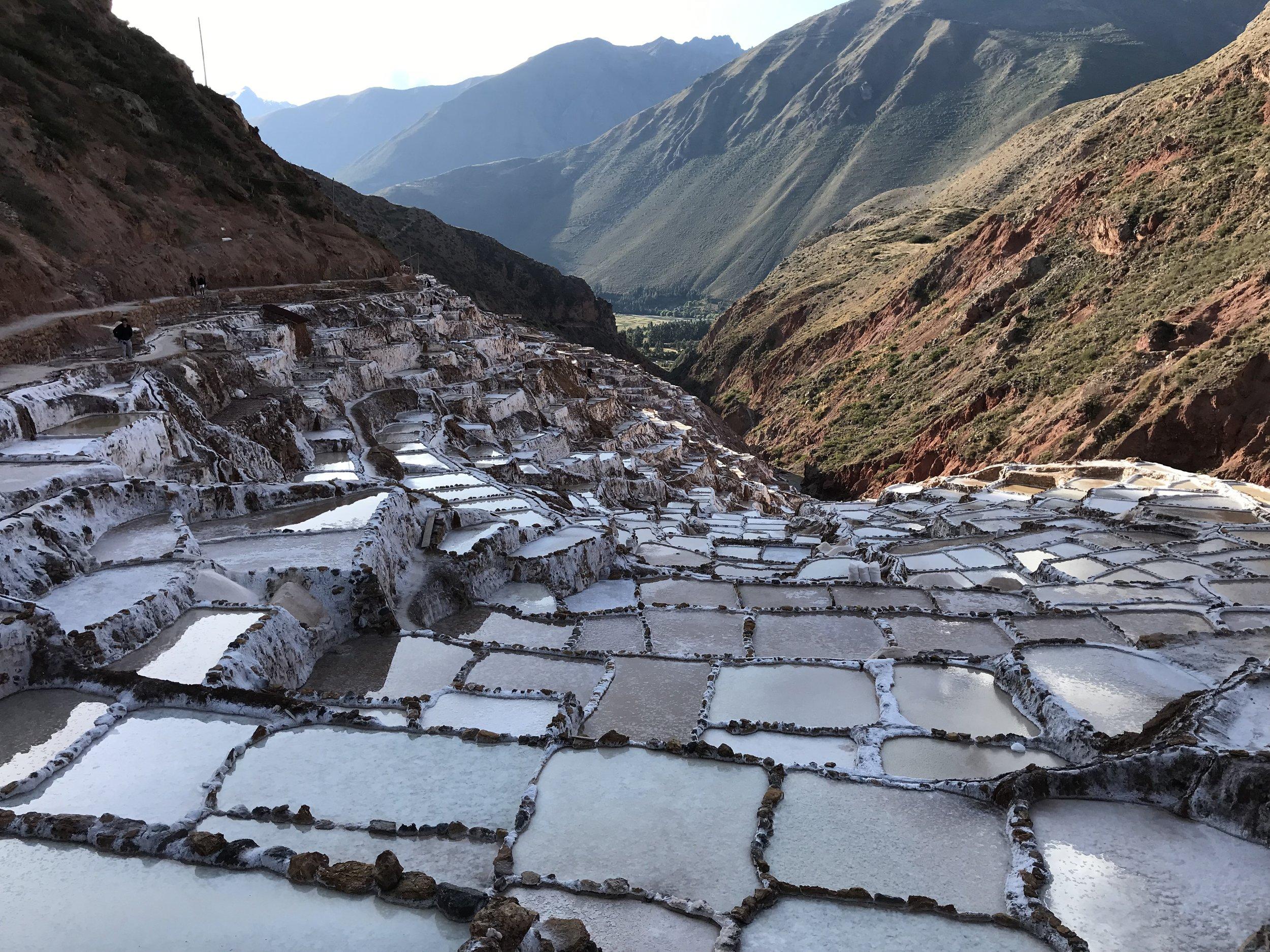 The Salineras Salt Mines.
