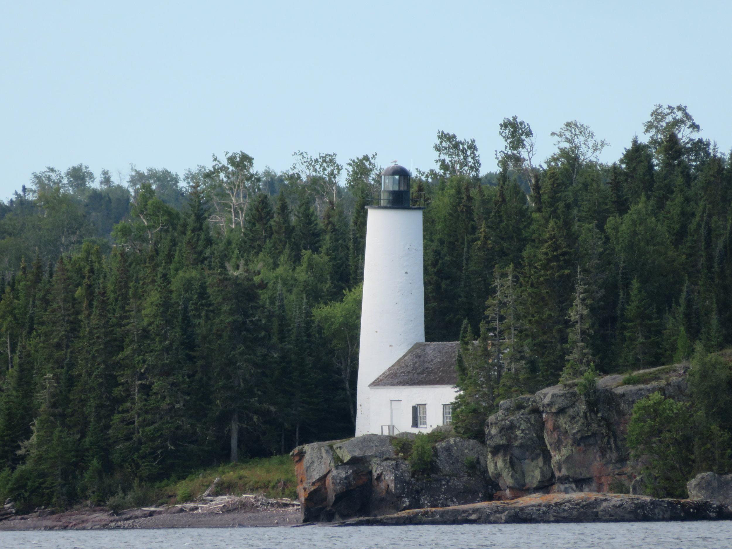 Rock Harbor Lighthouse Isle Royale NP.