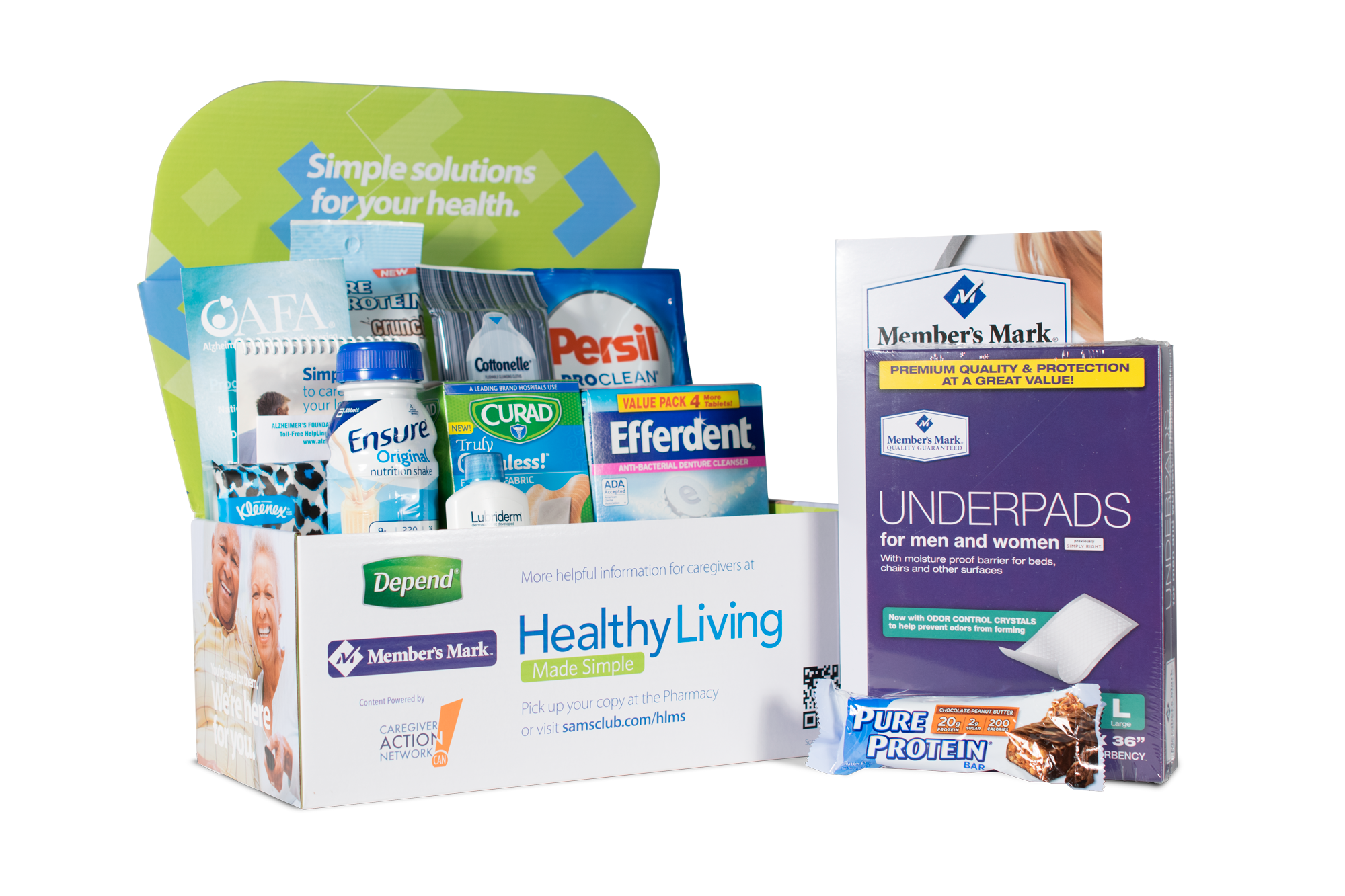 Sam's Club Caregiver Box