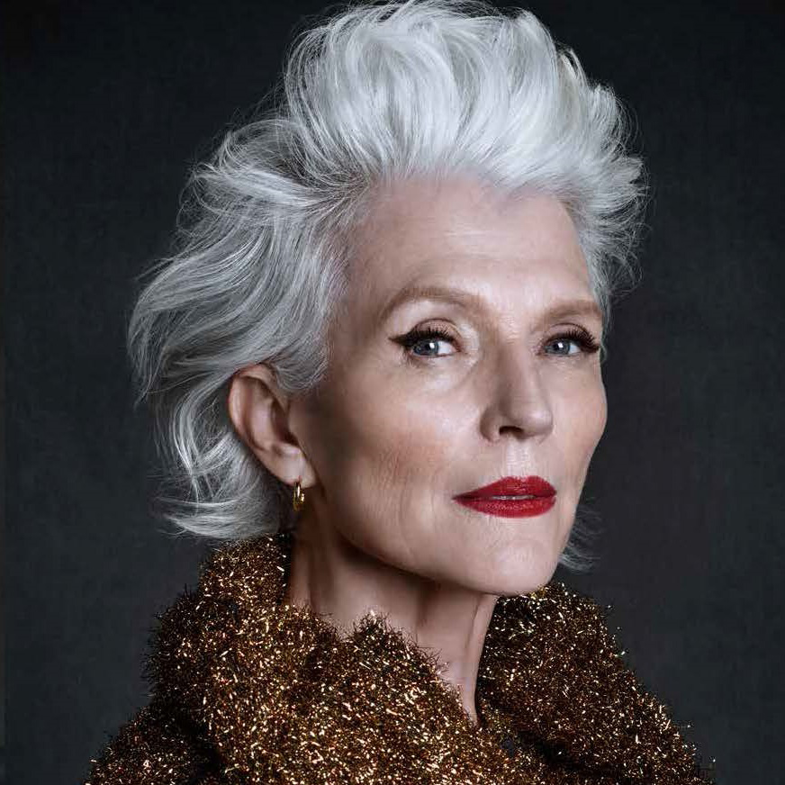8. Guess who's mum this is ? - Elon Musk's mum is HOT! Who knew!? A nutritionist and Vogue cover girl at 68, Maye Musk everyone... ELEGANT & STUNNING.