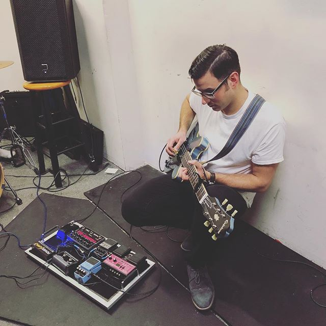 We are preparing something special for our show next week. Find out next Thursday at @elcortezbushwick . . . . . . . . #bandpractice #centaurus #brooklynband #newmusic #indie #epiphoneguitars #eventidespace #fender #boss