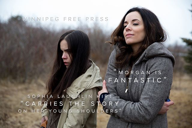 """Morgan is fantastic"" and ""Newcomer Hirt carries the story on her young shoulders"" - Alison Gillmor, Winnipeg Free Press on Ice Blue. In Theatres Now for a limited time! . . . . . #icebluemovie Starring: @MichelleMorgan_ @SophiaHirt @billy_maclellan @mattandsamsbrother @TAROPR #movies #cinema #films #playingnow #canadianfilm"