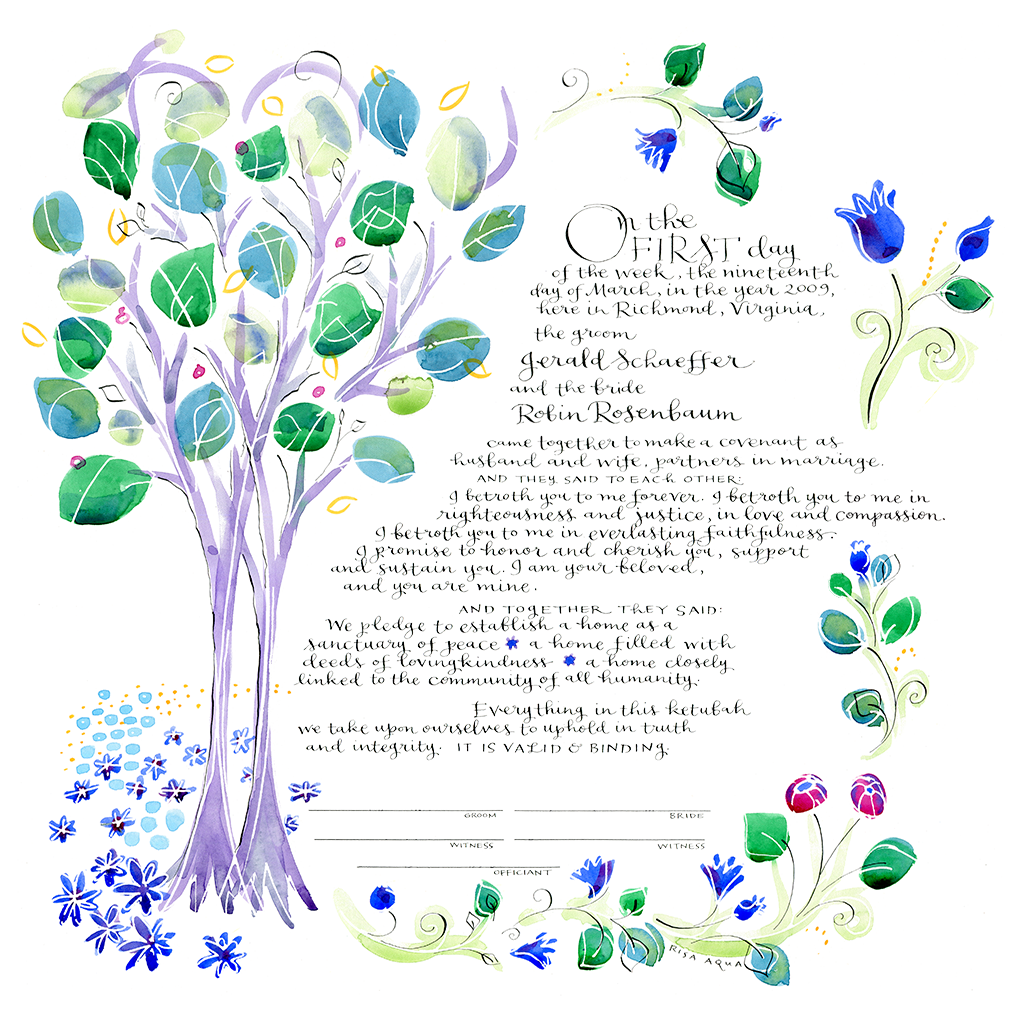 Blue Garden (non- religious text) -
