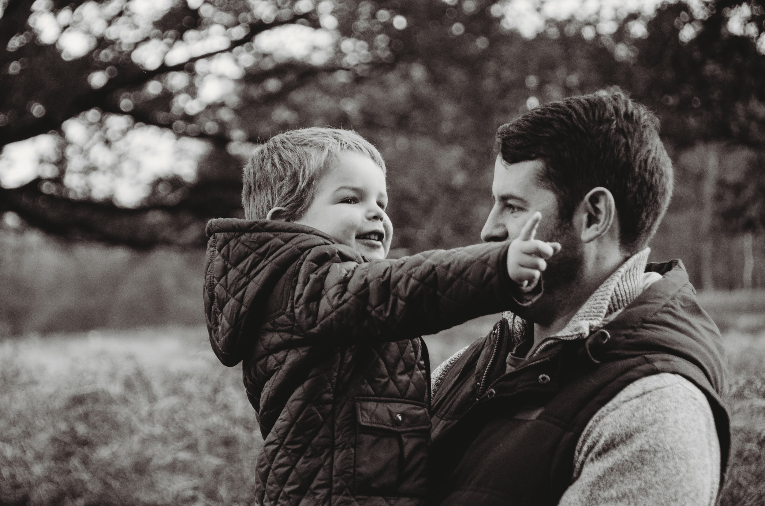 Son and his father by Hampshire Family Photographer Evie Winter