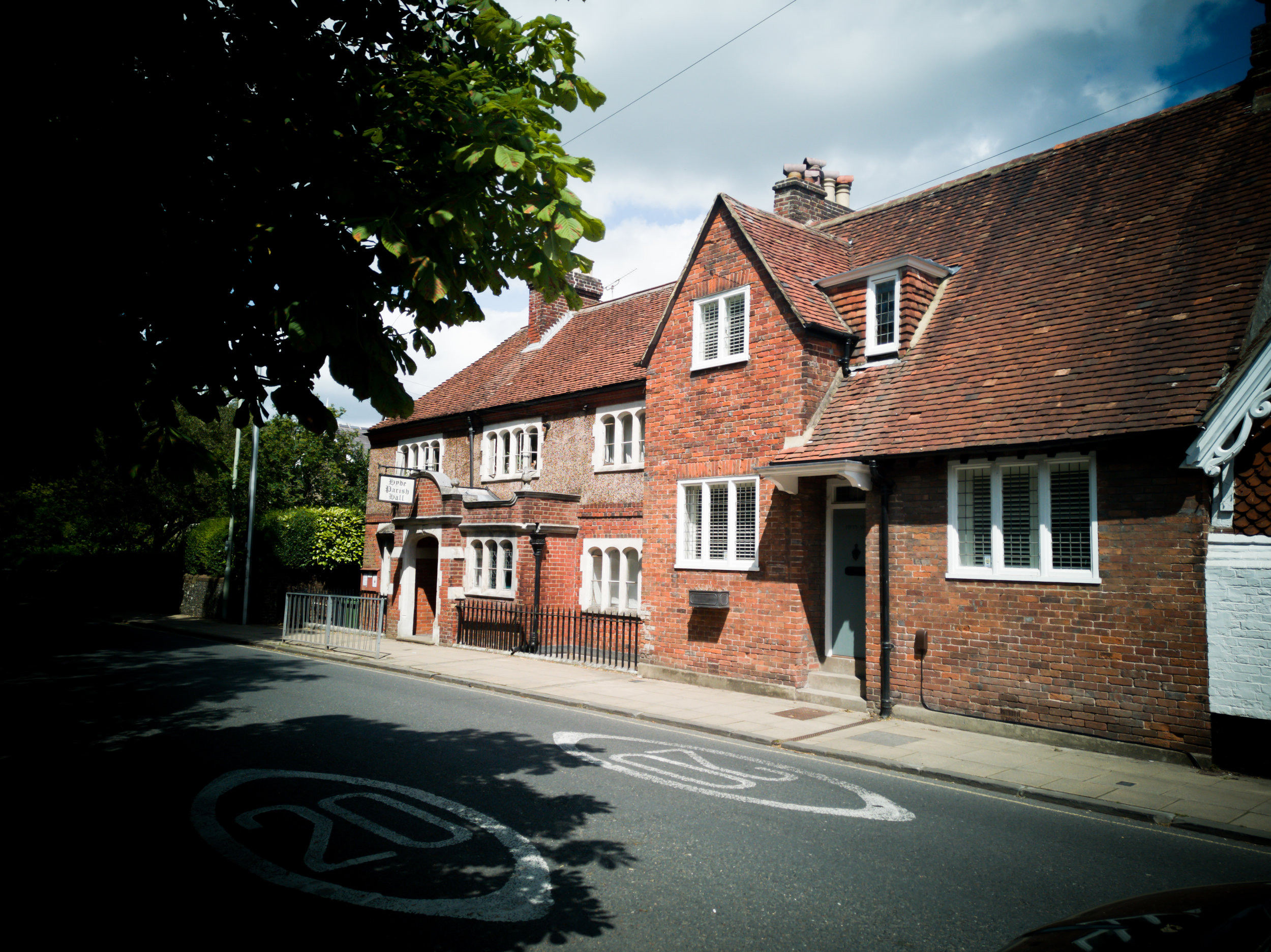 Hyde Parish Hall, Winchester by Hampshire Photographer Ebe er