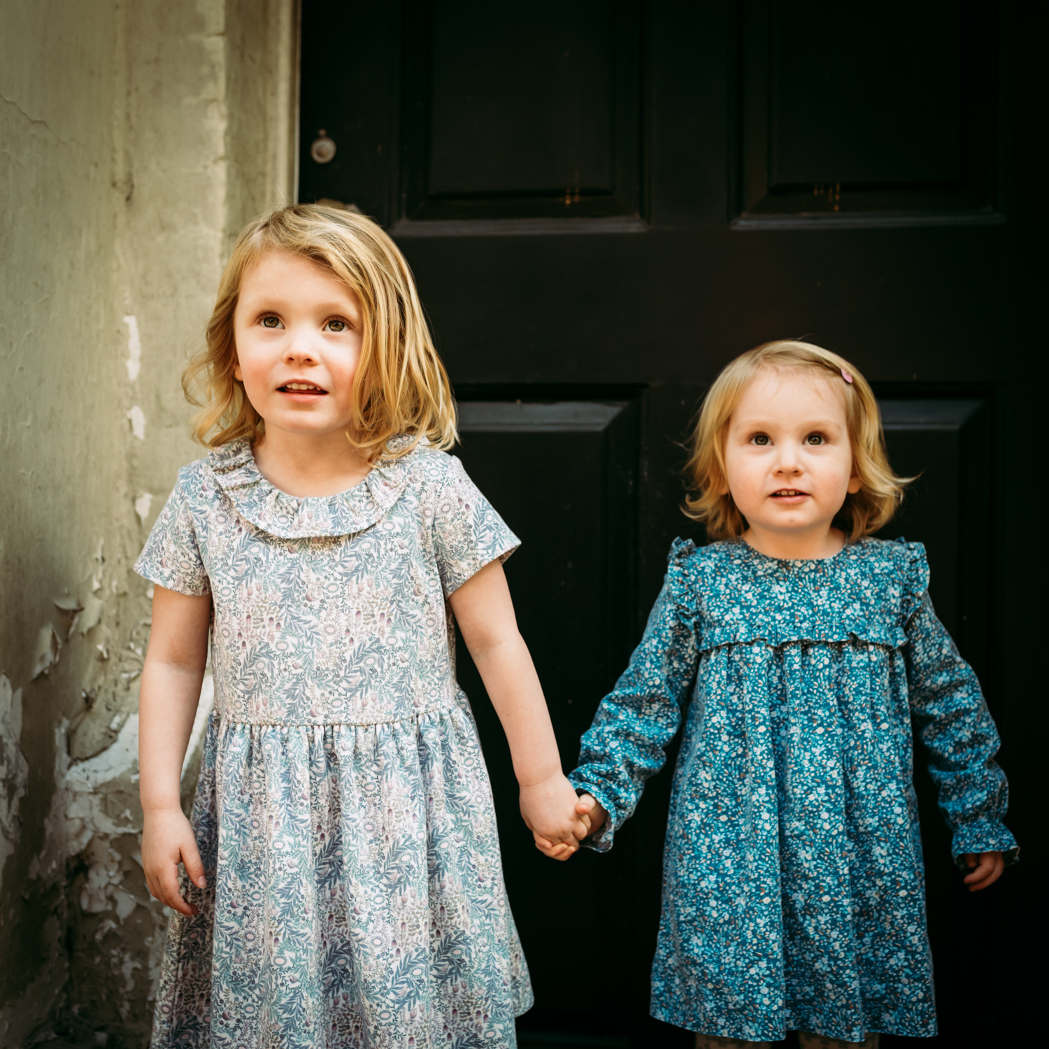 Two Girls By Hampshire Children's Photographer Evie Winter