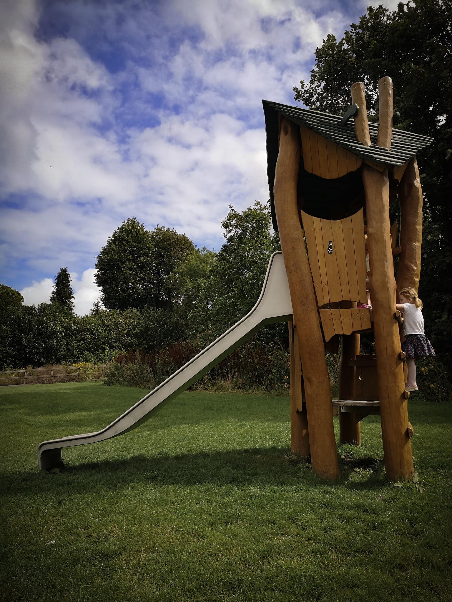 Winchester playground slide By Hampshire Photographer Evie Winter
