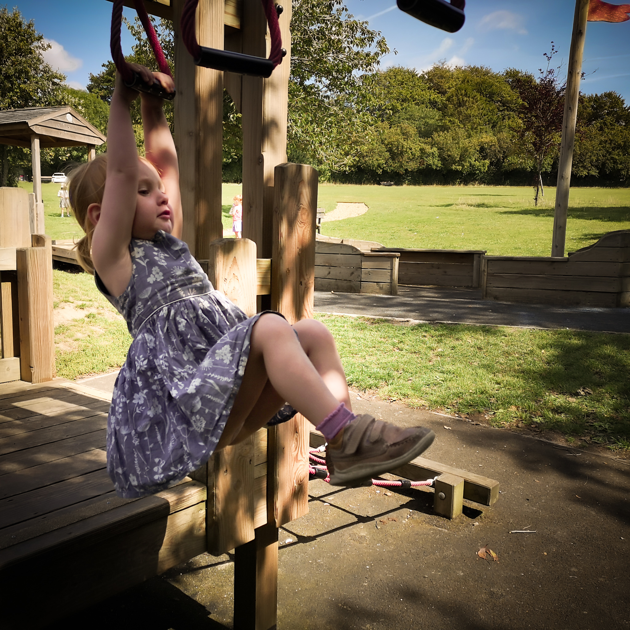 Olivers Battery Playground by Hampshire Photographer Evie Winter