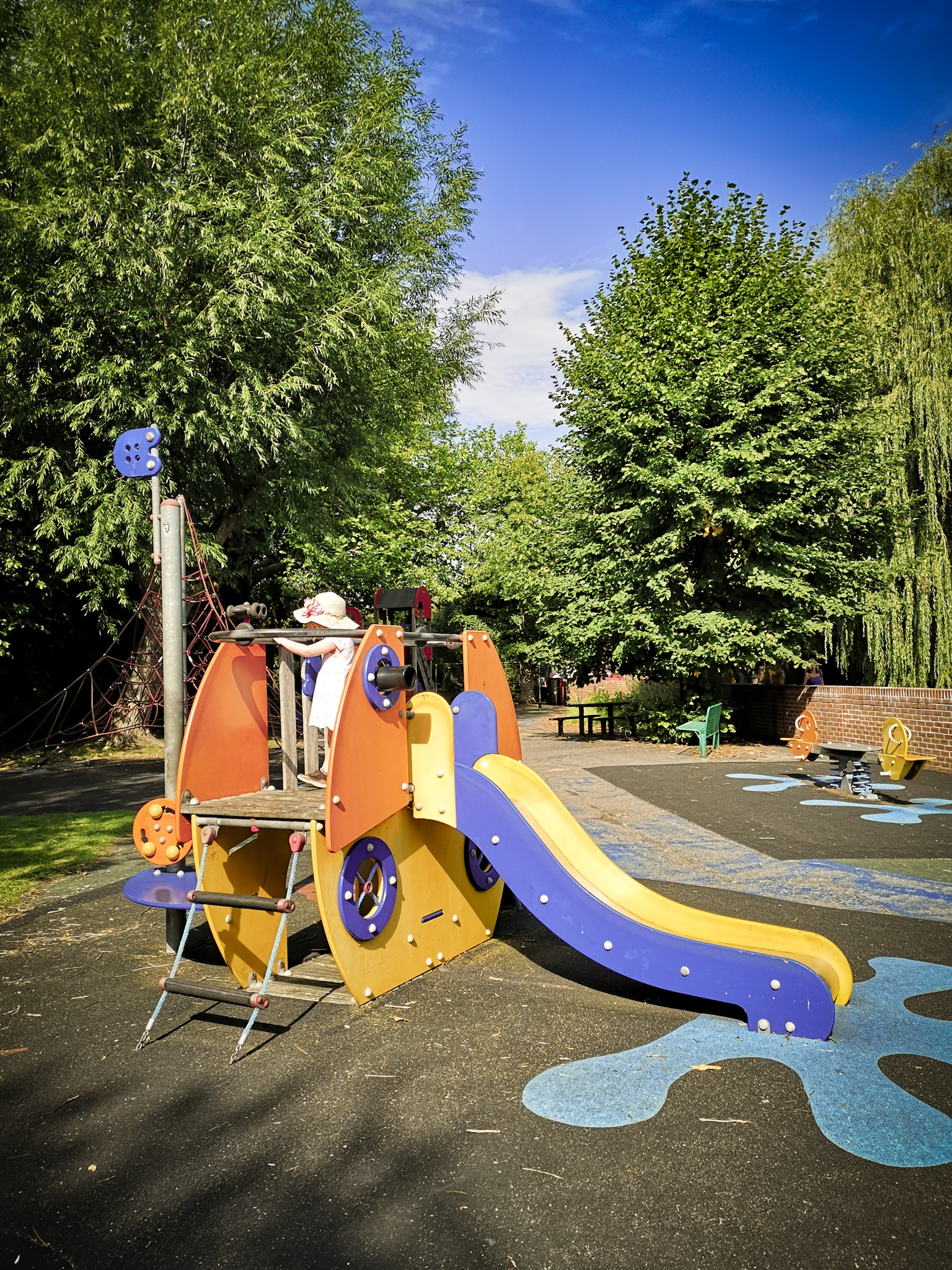 North Walls playground by Hampshire Photographer Evie Winter