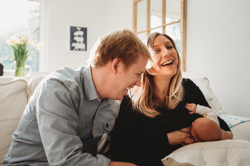 Best Newborn Photographer Hampton London Evie Winter