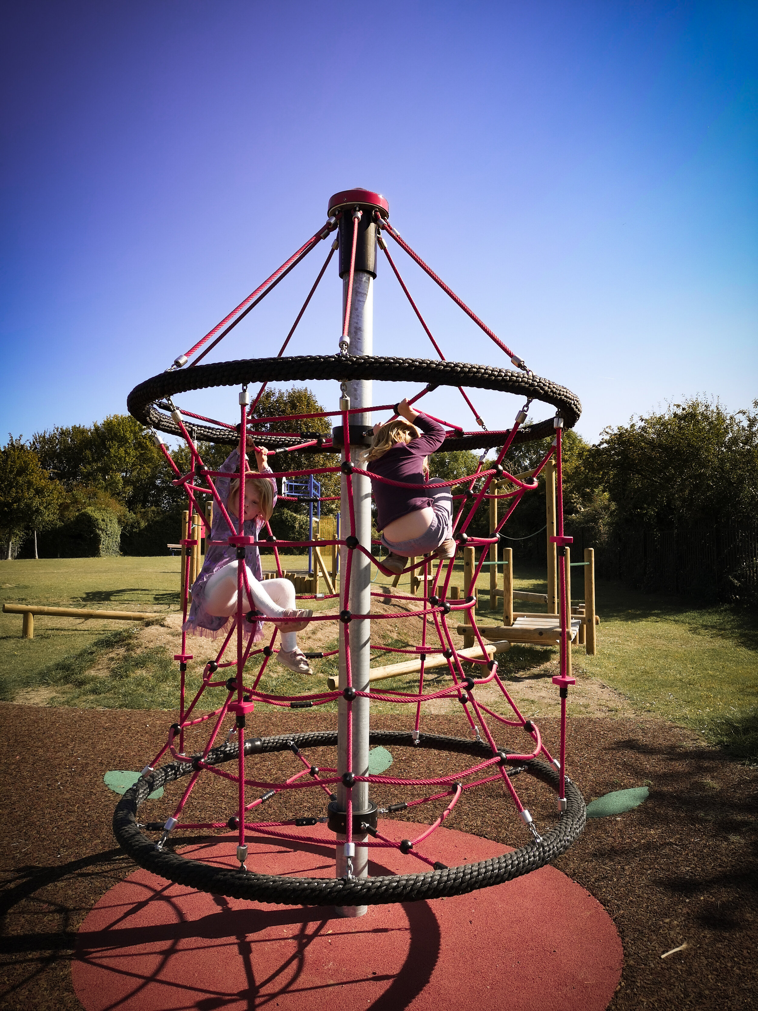 Gordon Ave Playground, Highcliffe is near the path for the South Downs