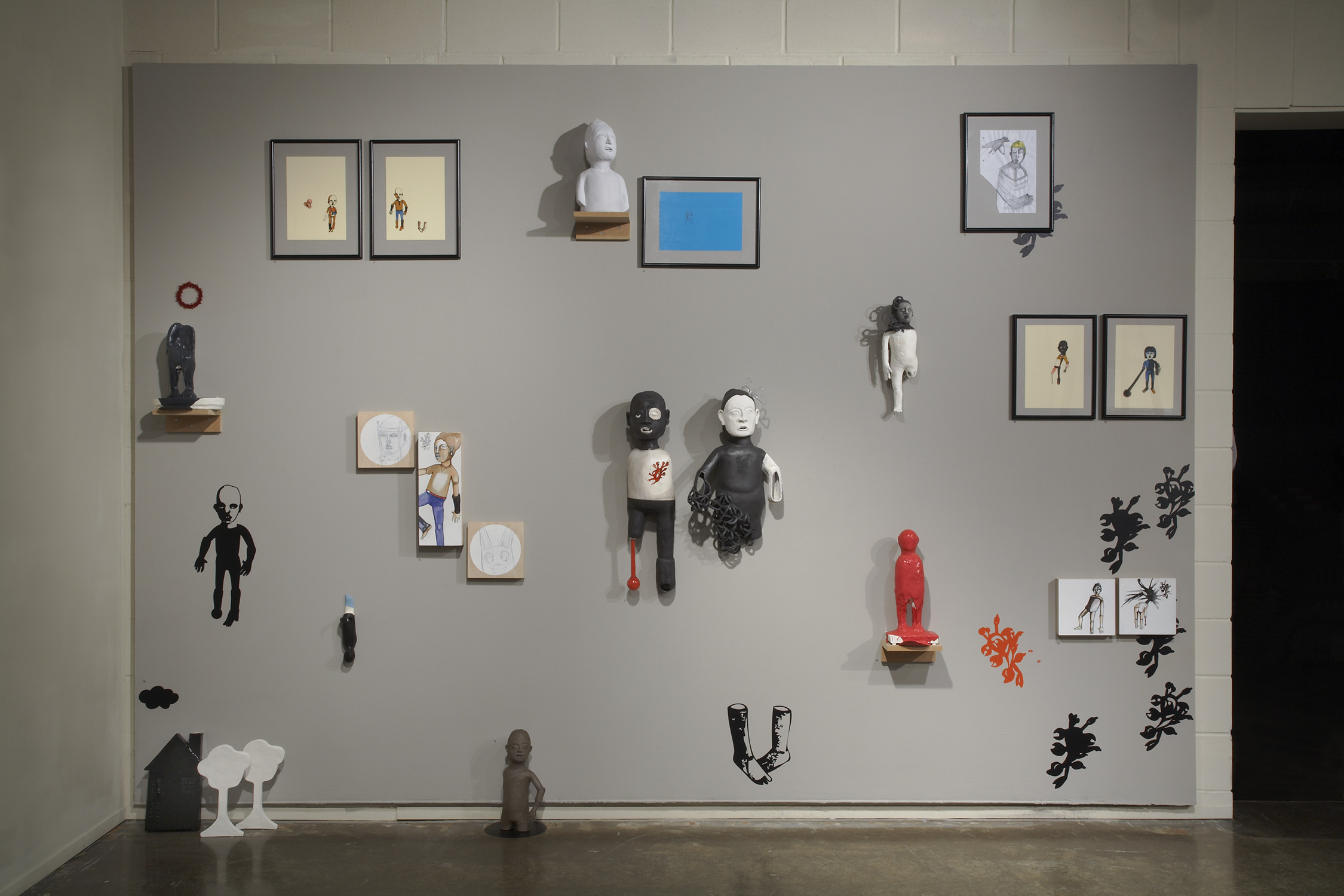 Contemporary Monsters   Curatorial Project Edith Garcia