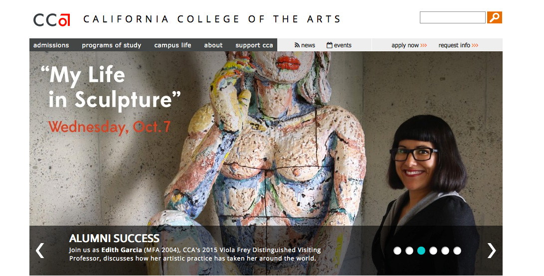 Viola Frey Distinguished Visiting Professor on California College of the Arts, website.