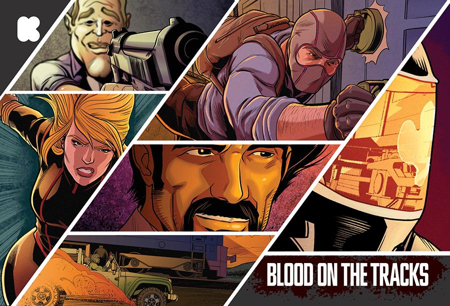 BLOOD ON THE TRACKS Kickstarter Campaign