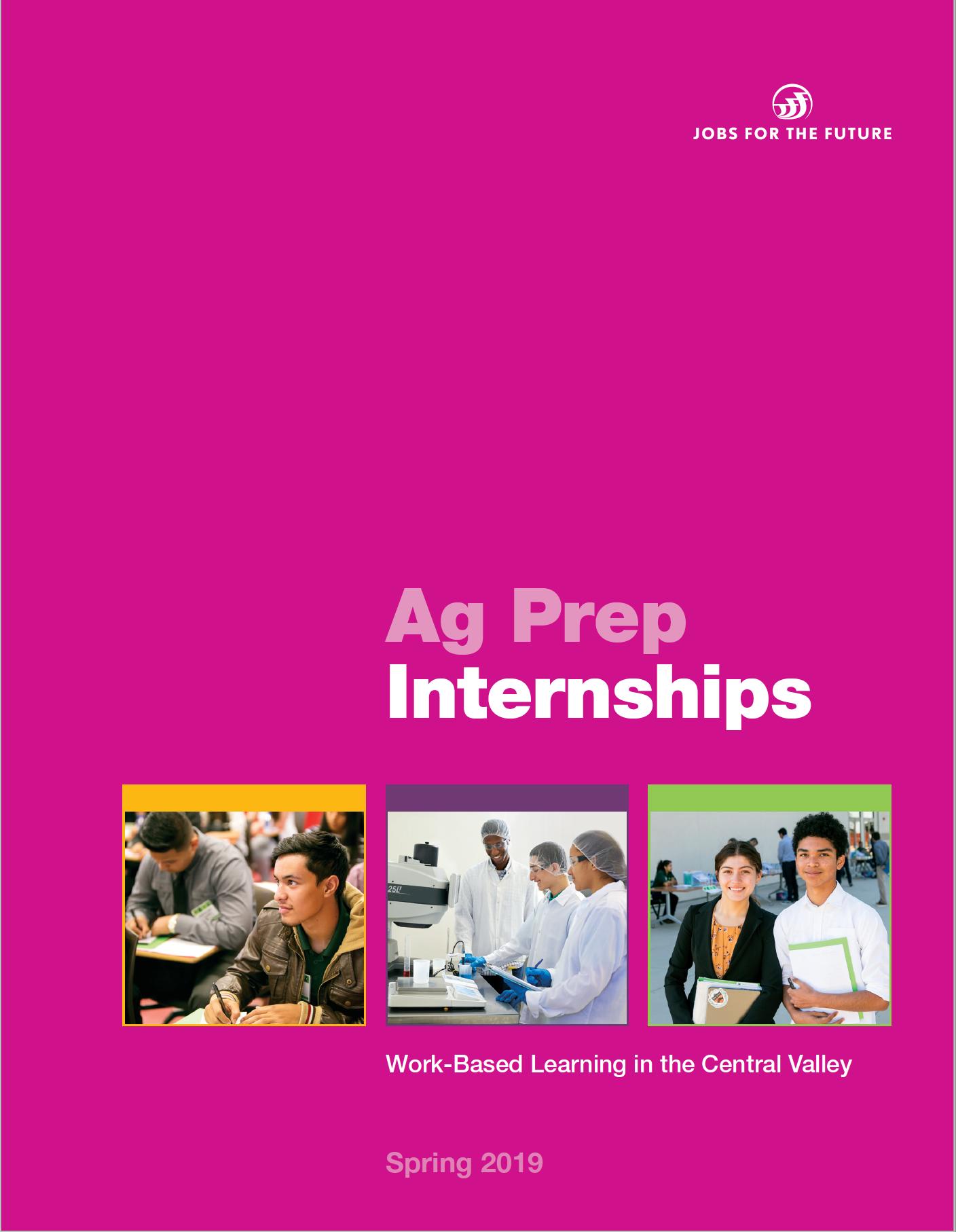 Ag Prep Internships