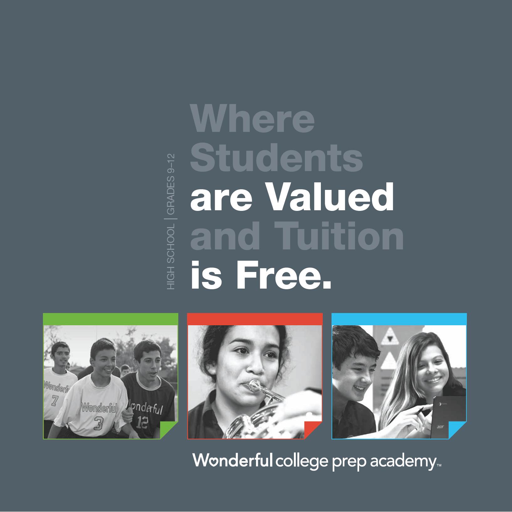 Wonderful College Prep Academy 9th-12th Grade