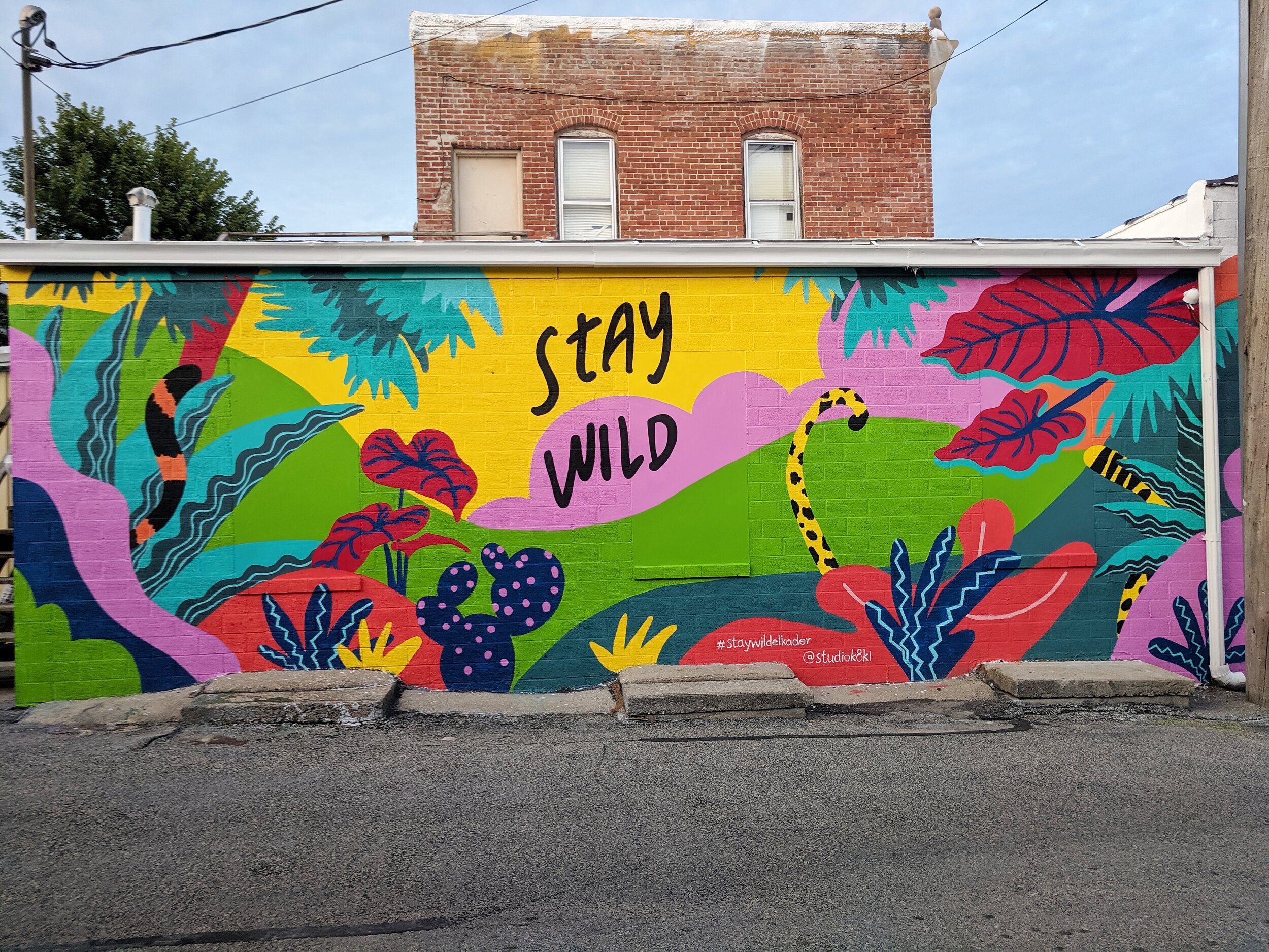 Stay Mural, Elkader - 10x30 feet