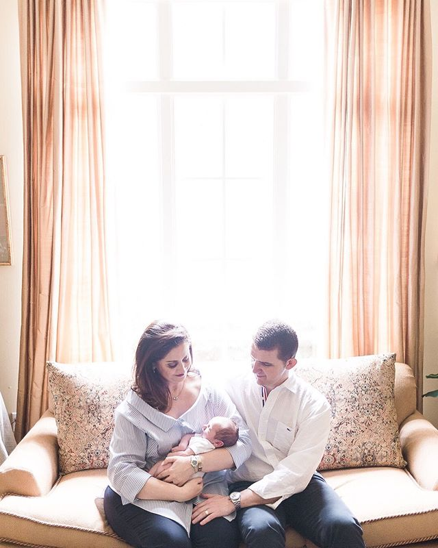 Getting major royal family vibes from this shoot with the Hadwiger Family. I could have died and gone to natural light heaven with this window in their beautiful sitting room.