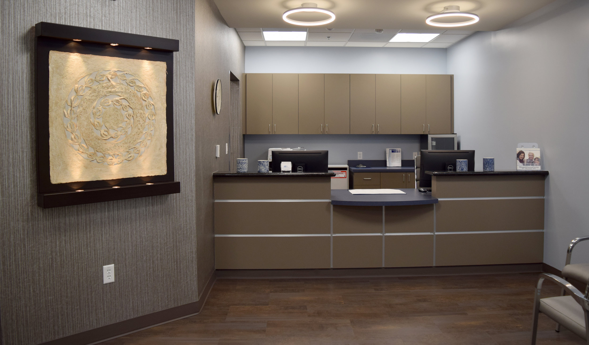 Front Desk at Women's Cancer Center